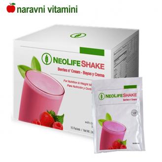 Naravne beljakovine - jagoda