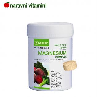 Naravne magnezijeve tablete