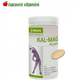 Naravni kalcij, magnezij +D